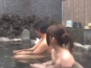 Bosomy Chinese sweetie has banged By Her BF open-air