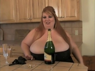 Big Tits Drunk Kitchen