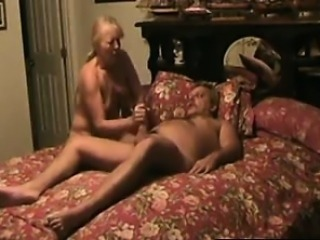 Suprising granny Kate with cumshot in throat