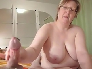 Amateur   Big Tits Glasses Handjob Homemade Mature Natural  Wife