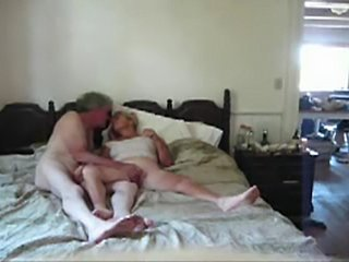 Mature Couple. After 30 years union still horny together. Licking my wifes...