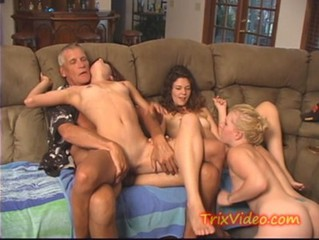 Daddy Daughter Family Groupsex Old and Young Teen
