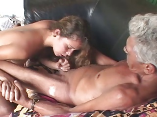 Never seen this in the lead - Old Man,Teen and Dildo