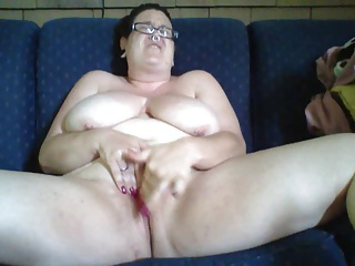Amateur  Big Tits Glasses Homemade Masturbating  Wife