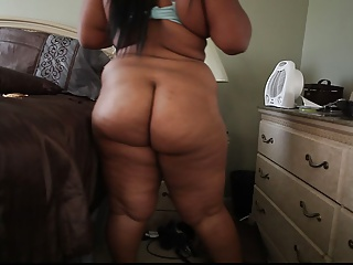 Amateur Ass  Ebony Homemade Stripper