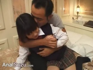 Deep chinese anal sex in the hotel room