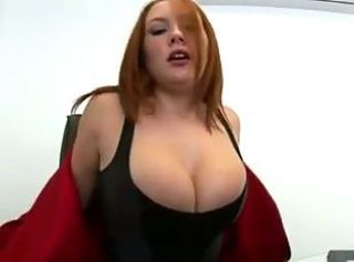 Beautiful Busty Redhead