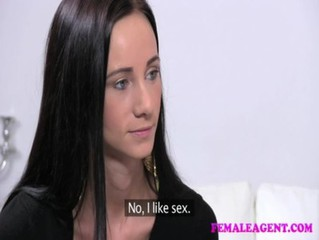 FemaleAgent First time with a woman for shy sensual beauty