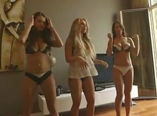 Hot Busty German Babes - Underwear Dancing