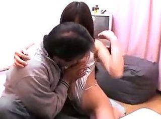 Japanese MILF fucked by papa