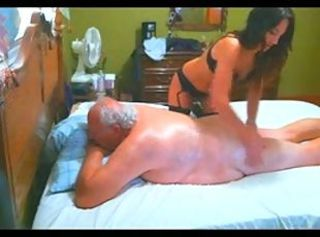 Chubby Grandpa Erotic Massage