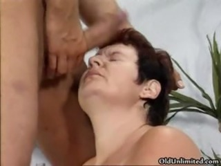 Tasteless mature slut gets piping hot part1