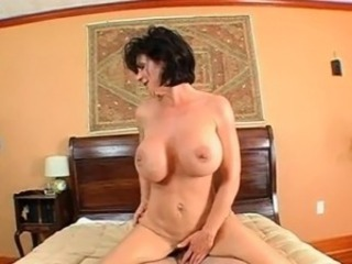 Excited mom slit banged involving several positions