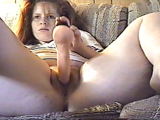 Amateur Chubby Dildo Homemade Masturbating Toy Wife