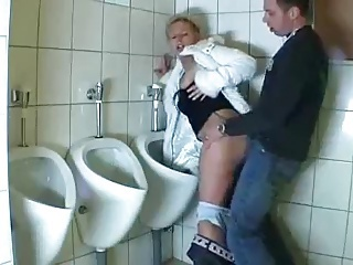 woman fucked beside put emphasize toilet