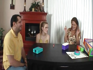 Dad Fucks not Daughter, Mom Watches-daddi