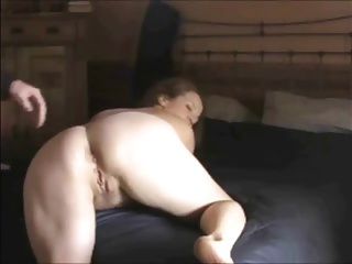 Son fucks not mom in the ass