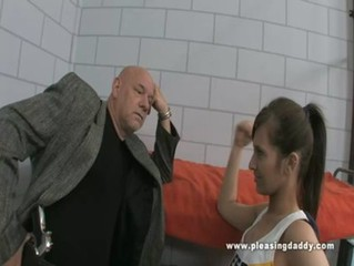 Young Slut Tries To Fuck Her Way Out Of Prison