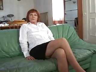 Mature French Redhead Fuck Huge Cock