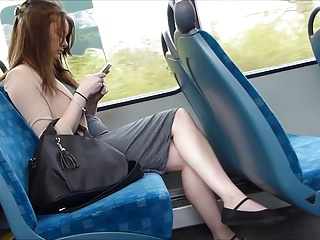 Candid X-rated Legs Mainly Train
