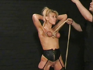 blond painslut tortured