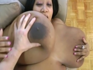 Big Tits Ebony Interracial