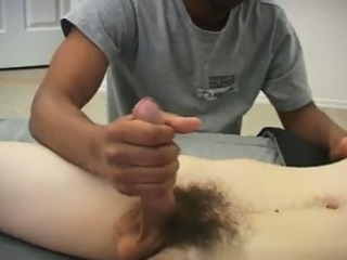 Hot gay sex Tyler\'s man-meat is so yam-sized it was stiff fo