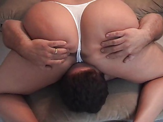 white thong facesit