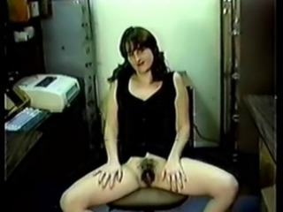 Nice Tits Hairy Puss Secretary Gets Plowed