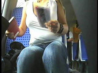 Braless Beauty Rides The Bus And Flashes Her Boobs Sex Tubes