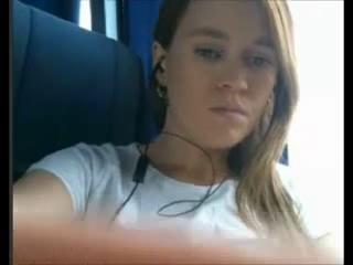 Amateur Hottie fooling around on the bus Sex Tubes