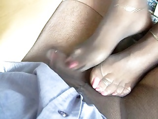 footjob no cum