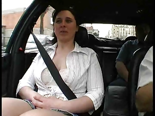 French milf fucked not on by 2 guys ....