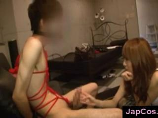 Japanese babe dominating guy in femdom play Sex Tubes