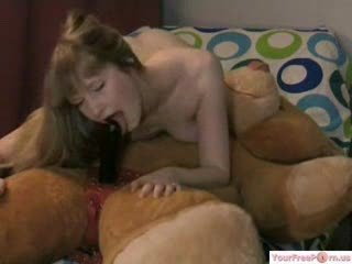 Super Horny Girl Riding Her Bear Like Crazy Part1 Sex Tubes