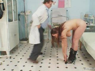 Andrea Visiting The brush Gyno Doctor Be fitting of Unmitigated Pussy Sex Tubes