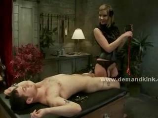 Sexy boy fucked by pair of gorgeous mistresses in extreme slave f Sex Tubes