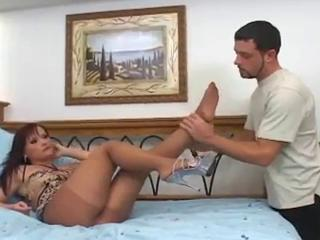 Nude crotchless pantyhose sex and foot fetish Sex Tubes