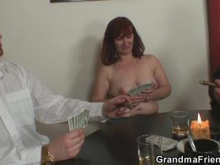 Mature Lost Her Pussy In Poker Game Sex Tubes