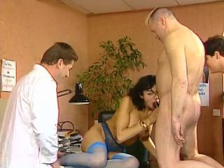 sexy french doctor reproduction penetration in a dispensary Sex Tubes