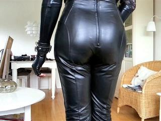 Sissy Sexy Tight Leather 3 Sex Tubes