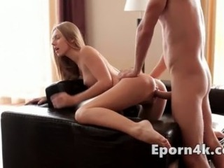Sexy tiny blonde seduce