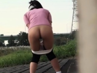 Asian hos pissed panties