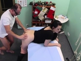 Taint fucks patient in an office on Christmas day