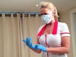 Nurse Gives Her Patient A Hanjob POV