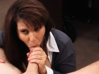 Busty wife in need of money gets pounded at the pawnshop