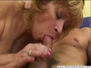 Old bitch getting her anal stuffed and sodomized