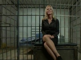 Blonde Office gal has got laid By An Inmate inside Prison