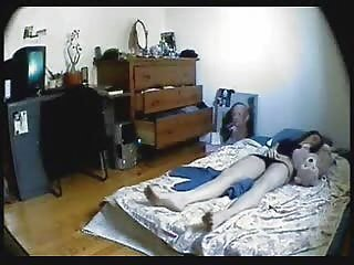 Hidden Cam On every side Bedroom Of My Sister Forbidden Her Masturbating