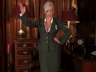 MILF Charlie Z Wants All Your Cocks At Attention